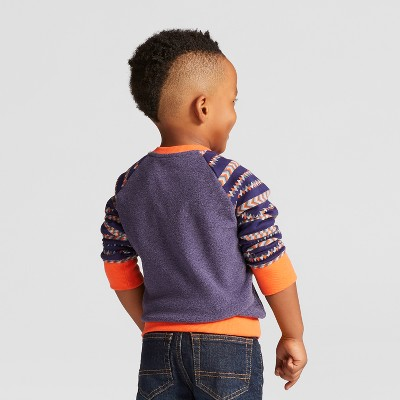 Toddler Boys' Sweatshirts - Cat & Jack™ Stately Blue 2T