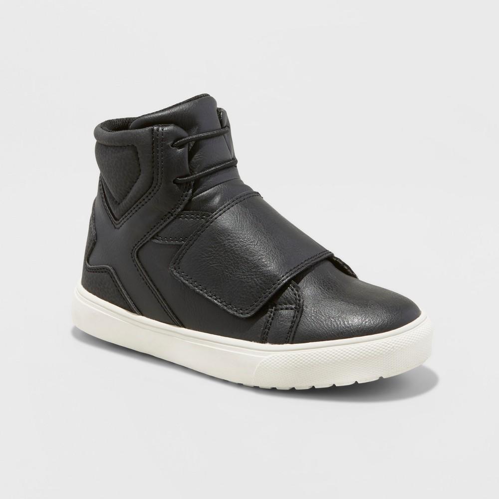Boys Elridge Black High Top Sneakers - Art Class Black 2
