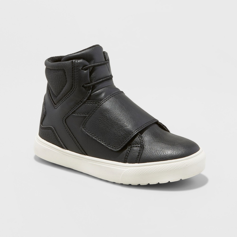 Boys Elridge Black High Top Sneakers - Art Class Black 4
