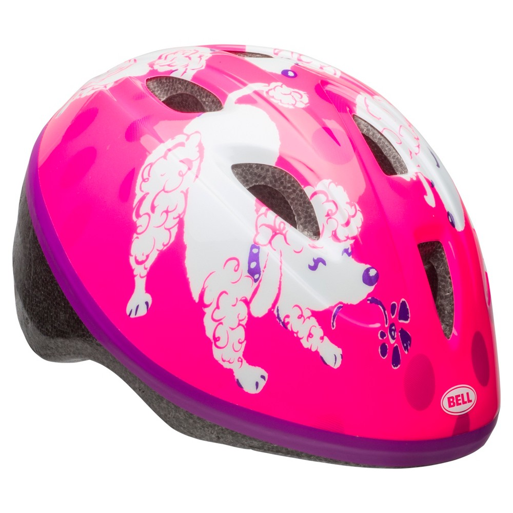 Bell Sports Sprout Infant Helmet - Pink Poodle Print
