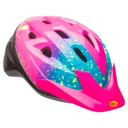 Bell Sports® Rally Child Helmet - Pink Splatter Print