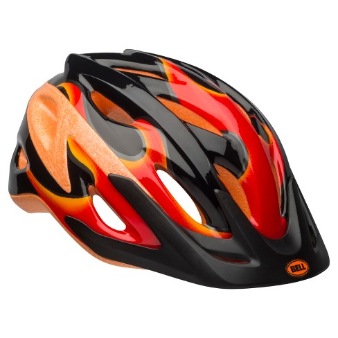 Bell Sports® Kick Flame Child Helmet - Black/Red/Orange - image 1 of 1