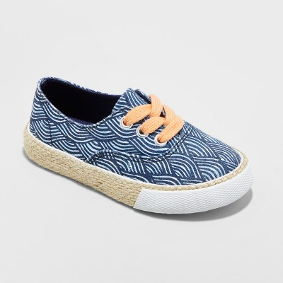 Toddler Girls' Genuine Kids Tailynn Low Top Sneakers - Blue 7