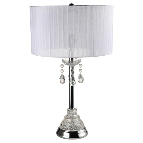 "30"" Table Lamp - White - Home Source - image 1 of 3"