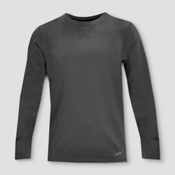 Watson's Boys' Thermal Underwear Shirt - Charcoal