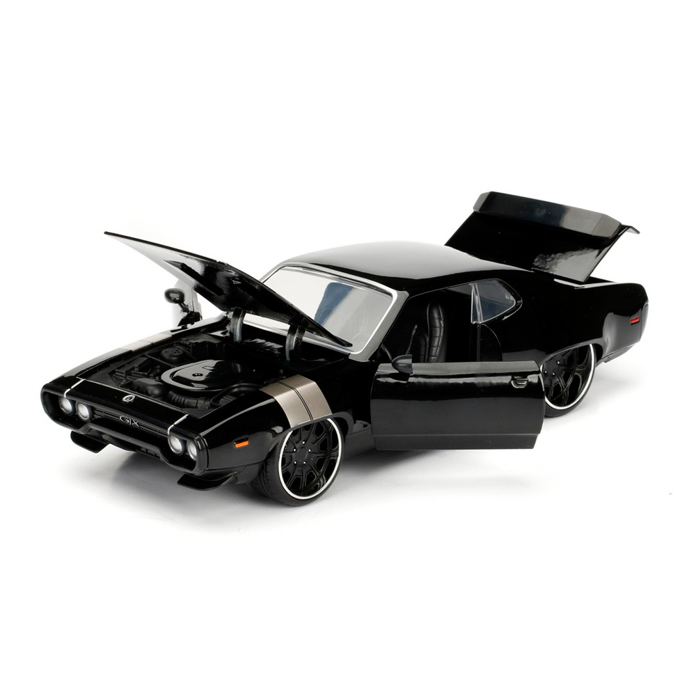 The Fast and the Furious - Plymouth Gtx Diecast Vehicle 1:24 Scale, Multicolored