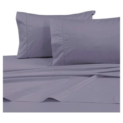 Cotton Sateen Deep Pocket Sheet Set (King)Lavender 750 Thread Count - Tribeca Living®