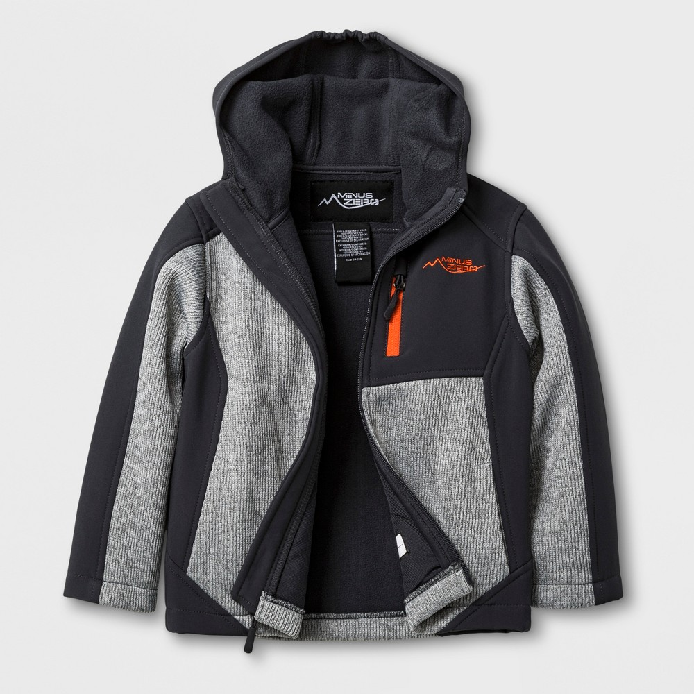 Minus Zero Toddler Boys Jacket - Gray 3T