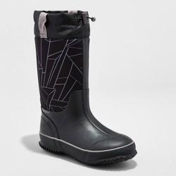 Boys' Preston Neoprene Winter Boots - Cat & Jack™ Black/White