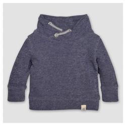 Burt's Bees Baby™ Toddler Boys' Applique Loose Pique Sweatshirt - Starry Night
