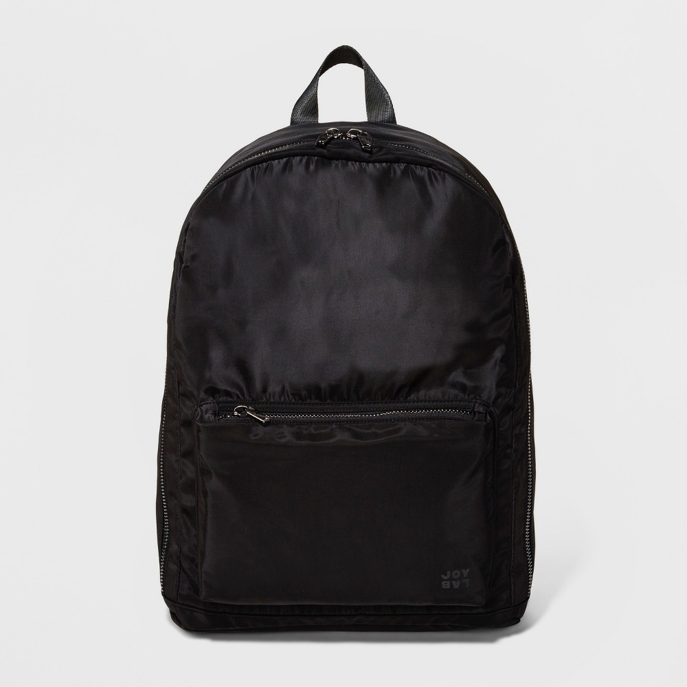 Womens Matte Nylon Backpack - JoyLab Black