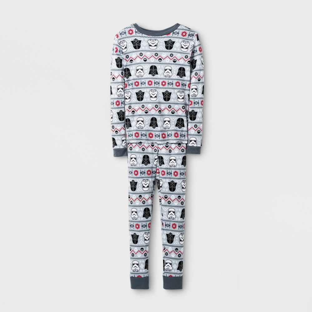 Star Wars Kids 2pc Pajama Set - Gray 4, Kids Unisex