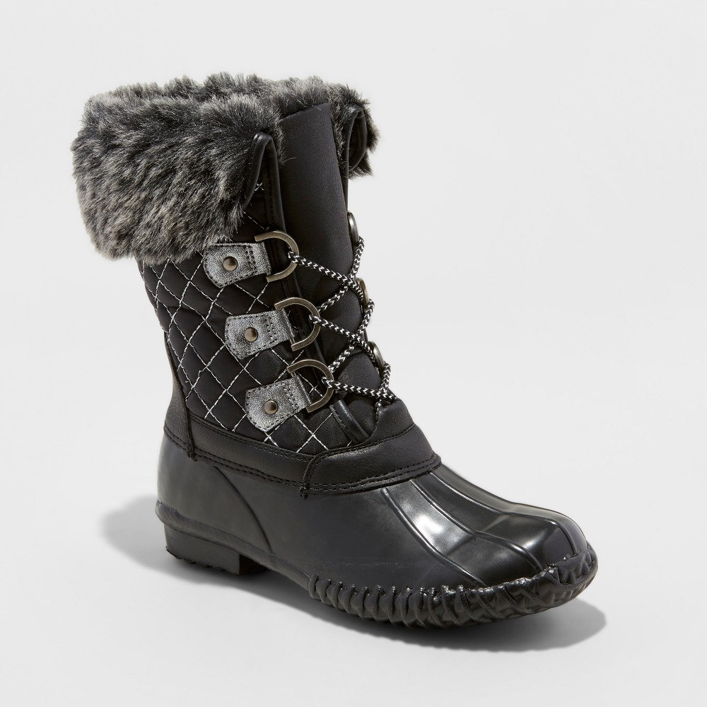 Girls Stevies #winterbreak Winter Boots - Black 4