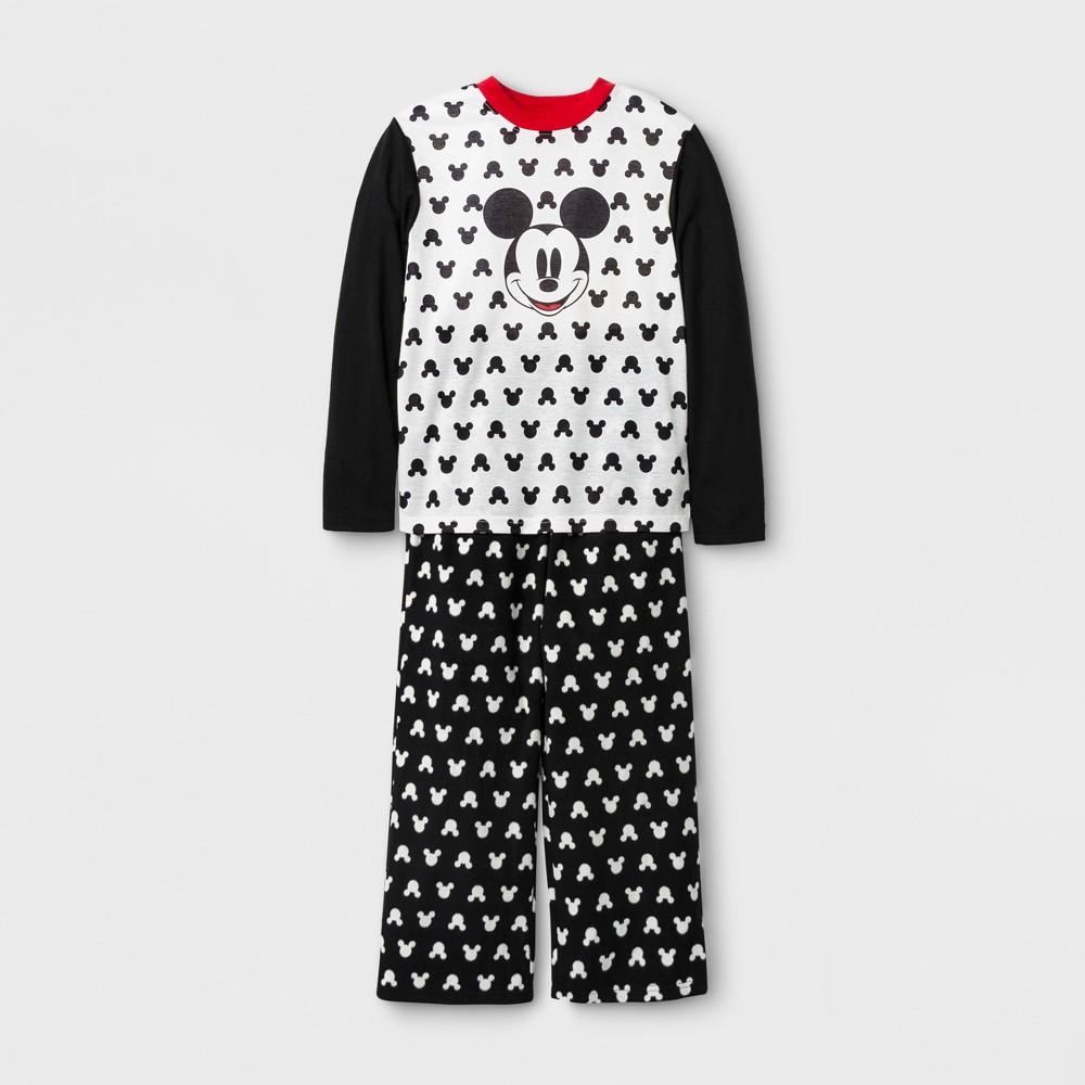 Kids Mickey Mouse 2pc Family Pajama Set - Black 4, Kids Unisex