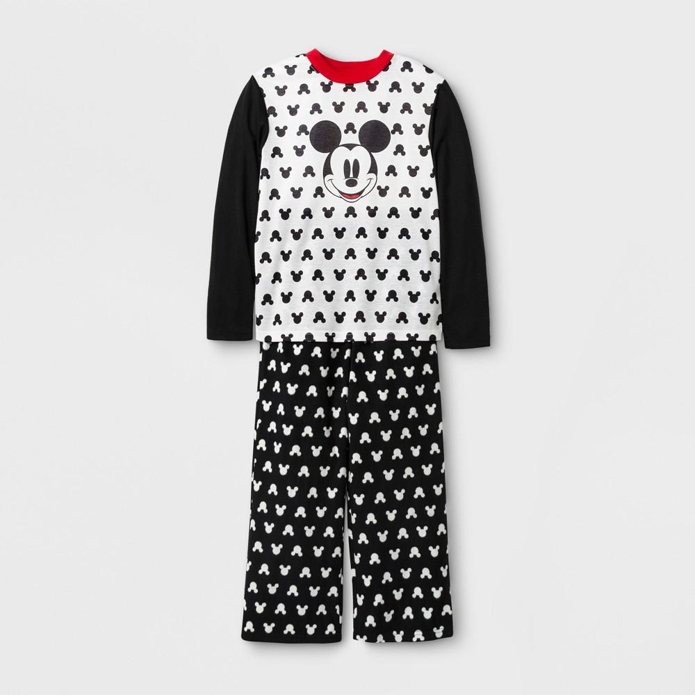 Kids Mickey Mouse 2pc Family Pajama Set - Black 8, Kids Unisex