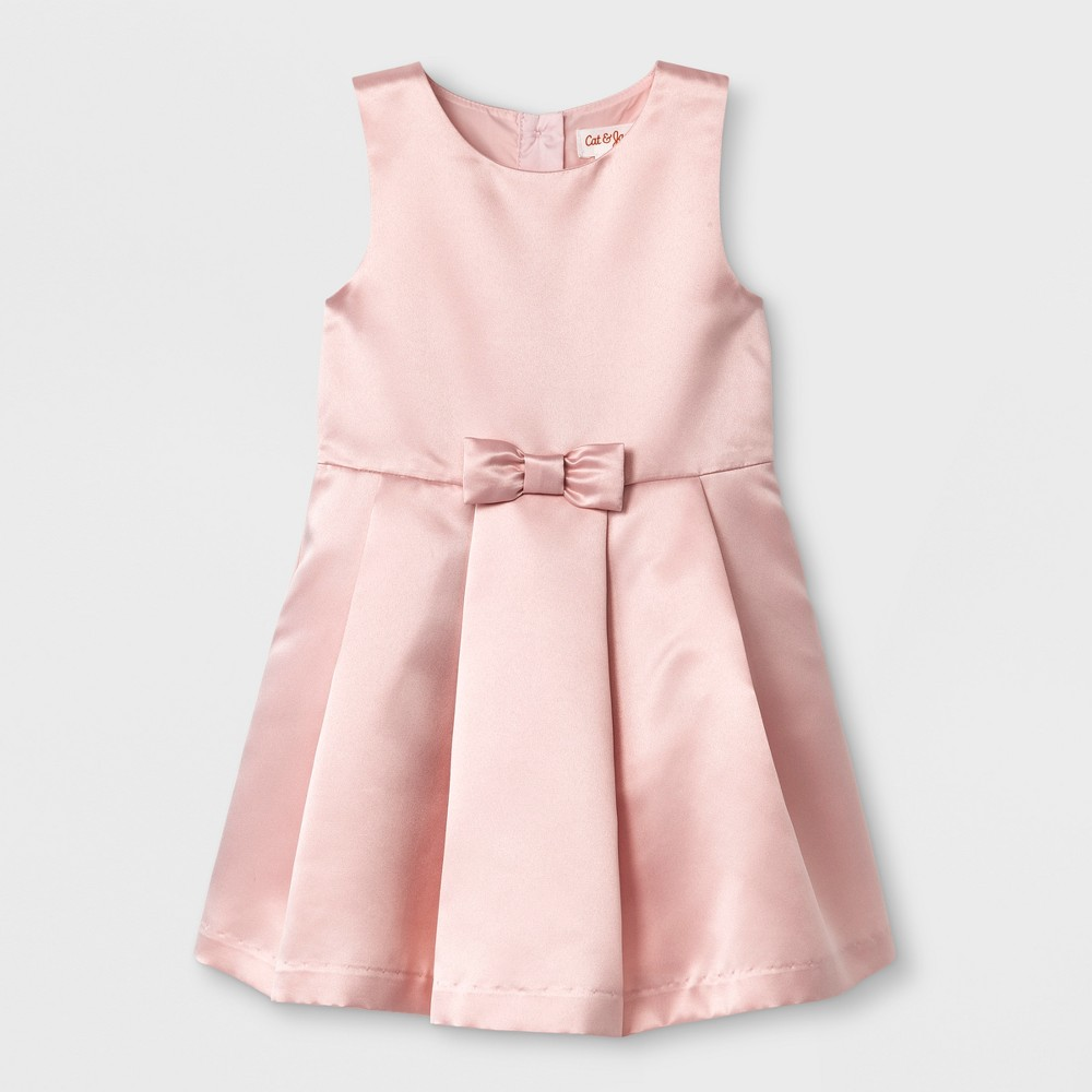 Toddler Girls A Line Dress - Cat & Jack Pink 12M