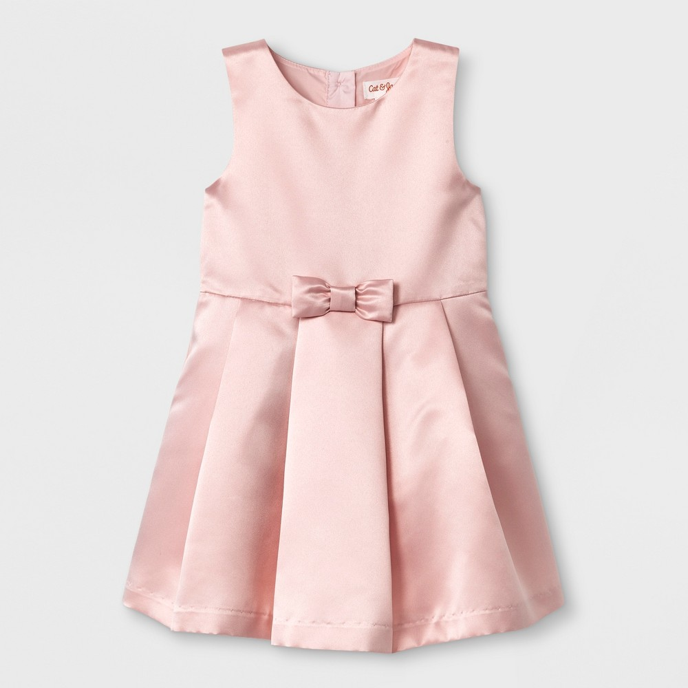 Toddler Girls A Line Dress - Cat & Jack Pink 3T