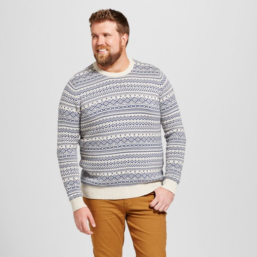 Men's Big & Tall Fairisle Sweater - Goodfellow & Co™ : Target