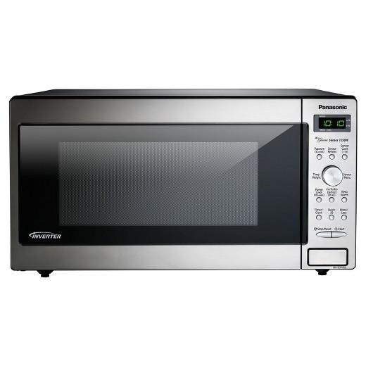 Panasonic 1 6 Cu Ft Microwave Oven Nn Sd745s Target