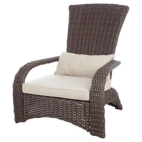 Deluxe Coconino Wicker Chair - Fire Sense - image 1 of 6