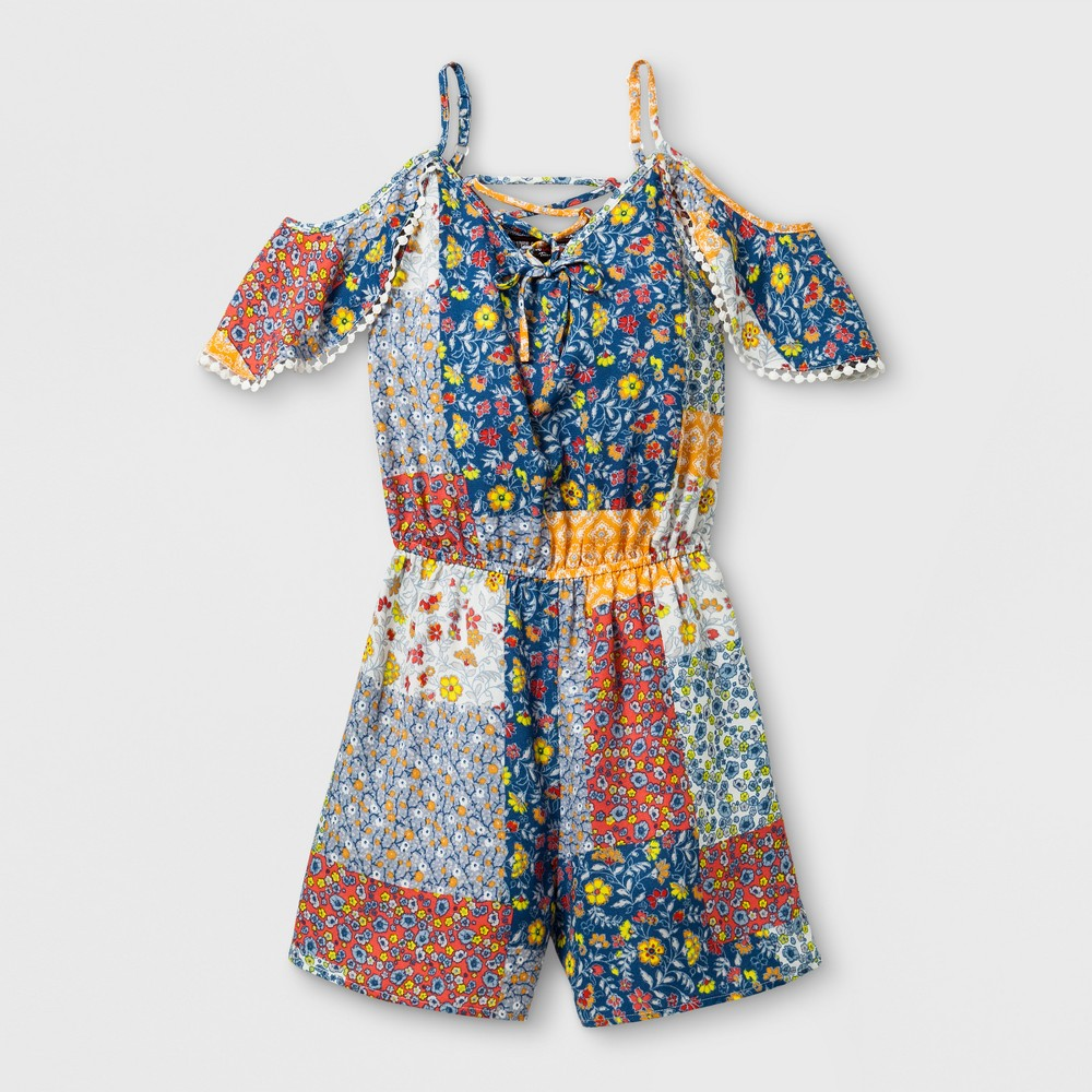 Girls Stella & Sienna A Line Dress With Poms - 10, Multicolored