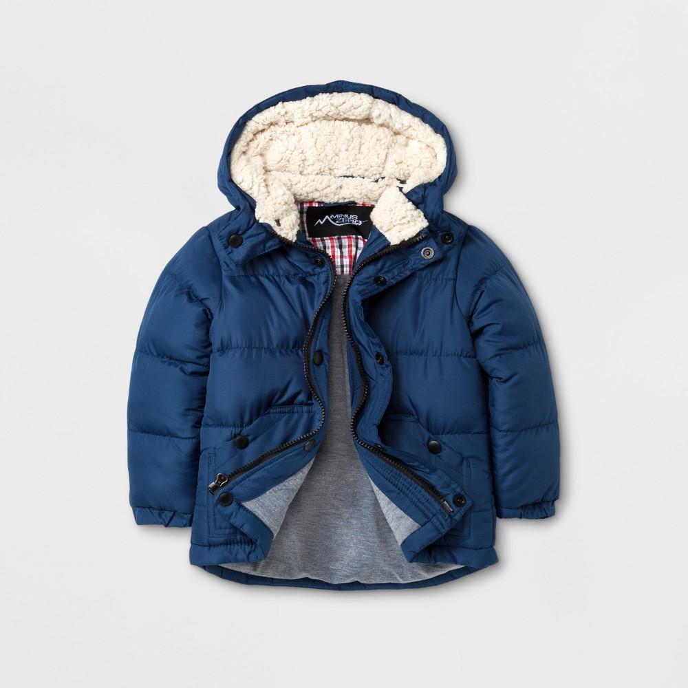 Minus Zero Toddler Boys Puffer Jacket - Blue 3T