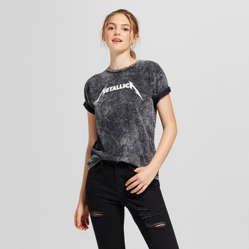 Womens Metallica Graphic T-Shirt Black XL (Juniors)