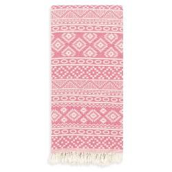 Sea Breeze Pestemal Beach Towel Pink - Linum Home Textiles®