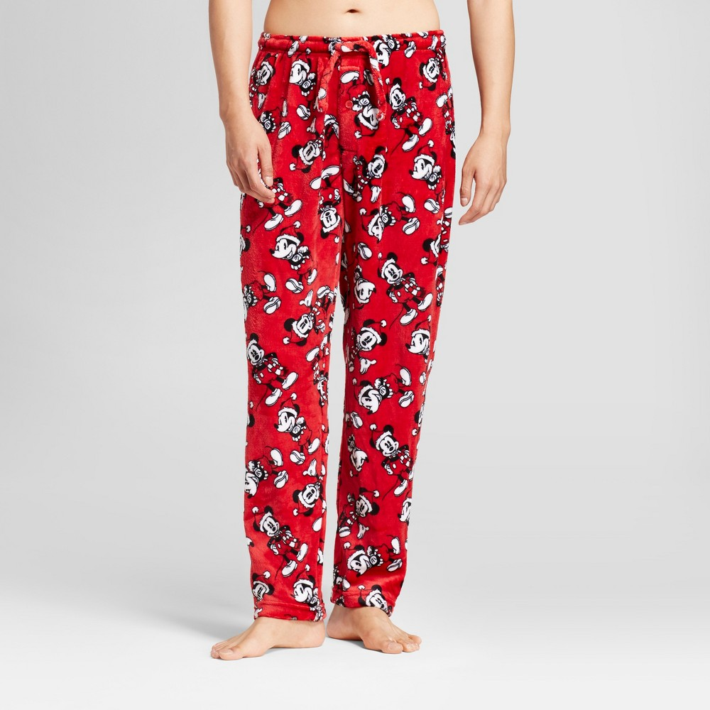 Men's Mickey Mouse Pajama Pants - Red M