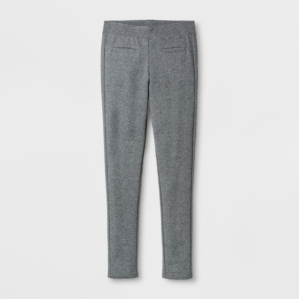 Girls Ponte Fashion Pants - Cat & Jack Heather Gray Xxl