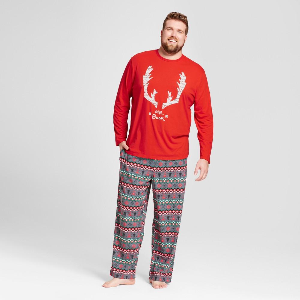 Pajama Set Wondershop Anthem Red 3XB Tall, Mens, Size: 3XBT, Orange