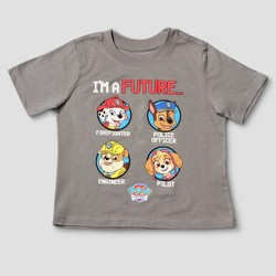 Toddler Boys' PAW Patrol Short Sleeve T-Shirt - Gray