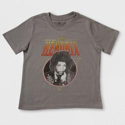 Toddler Boys' Jimi Hendrix Short Sleeve T-Shirt - Gray