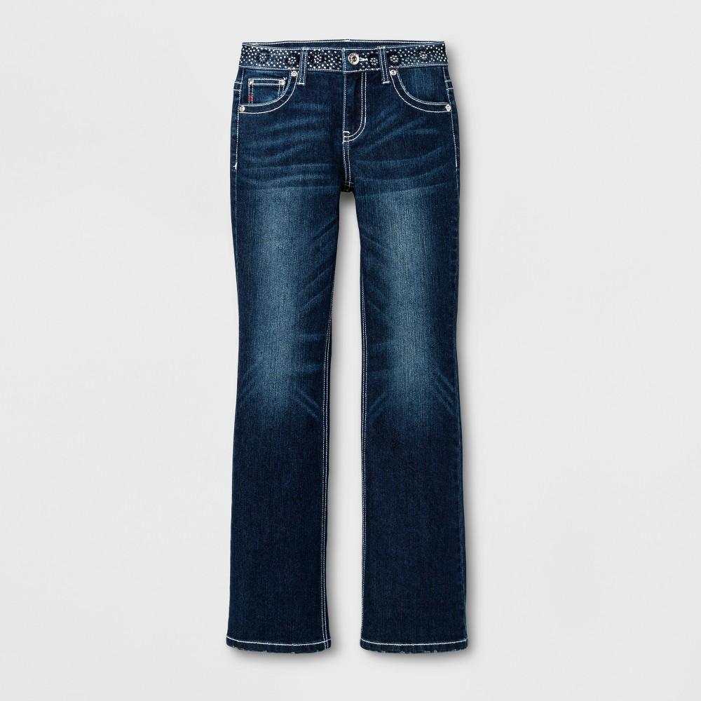 Girls Seven7 Bootcut Jeans - Indigo Blue 7