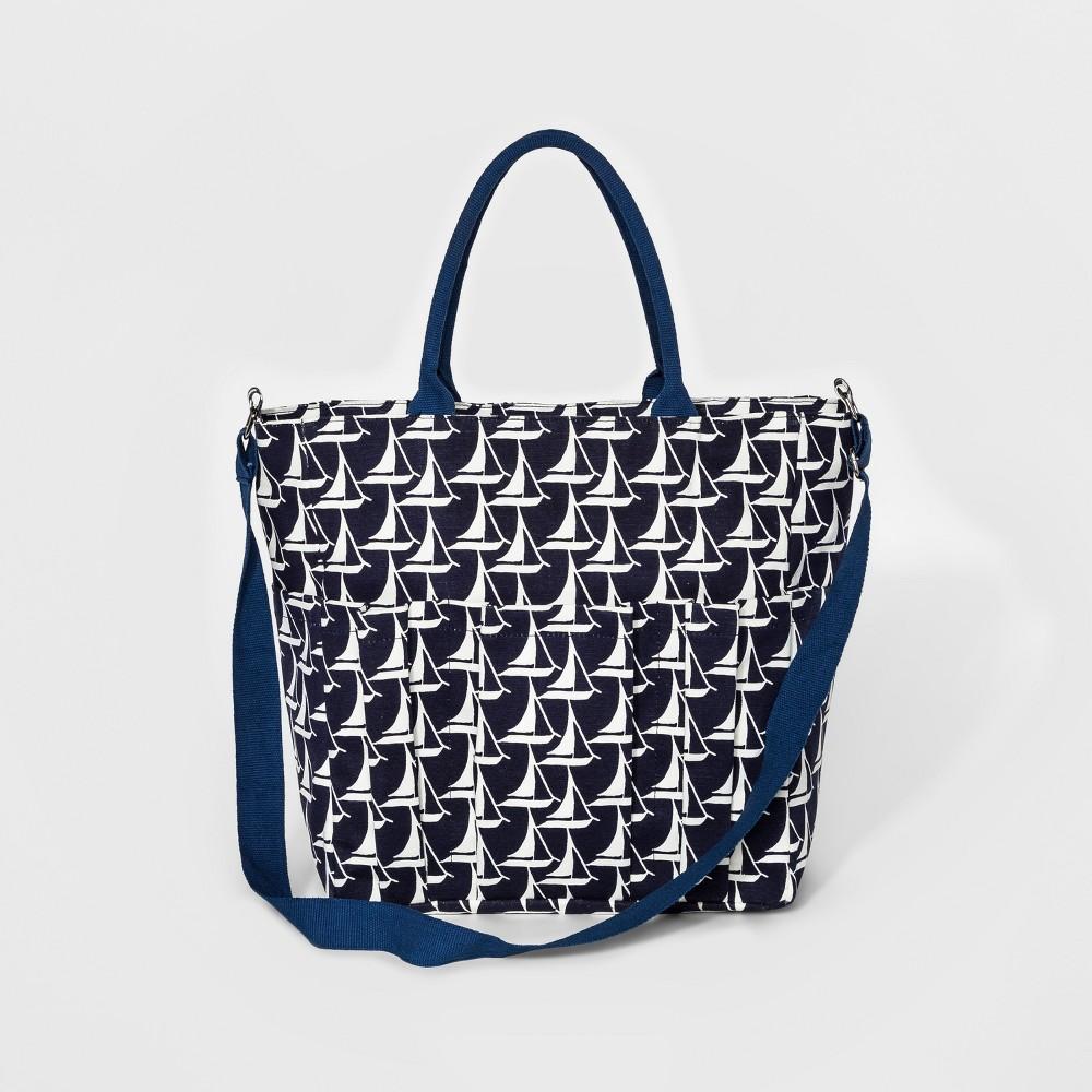 rockflowerpaper Weekender Bag - Sailboat Navy (Blue)