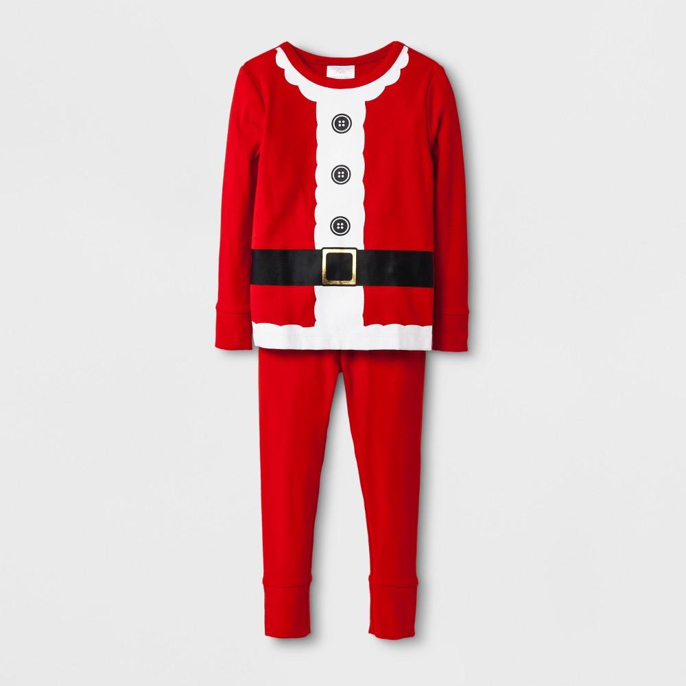 Pajama Set Wondershop Anthem Red 2T, Kids Unisex, Orange