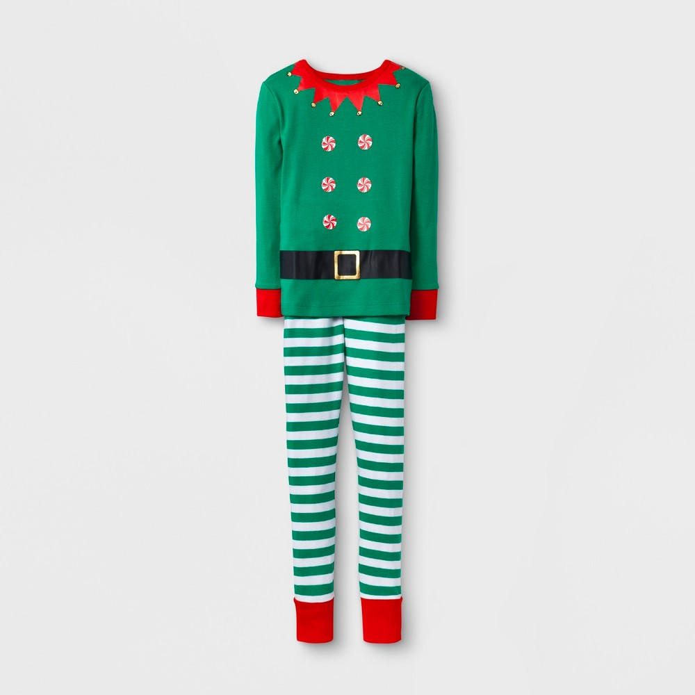 Kids Growing Pajama Set - Wonder Shop Green 4, Kids Unisex