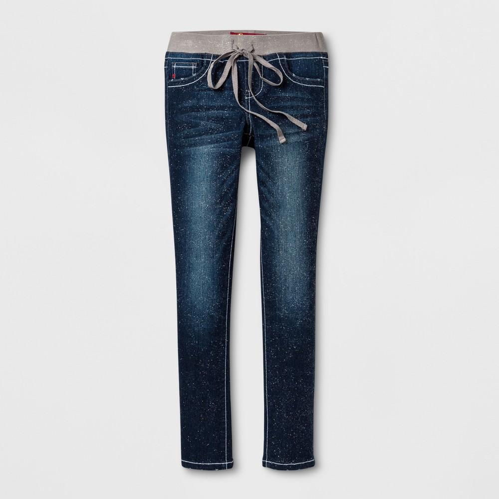Girls Seven7 Skinny Jeans - Indigo Blue 12