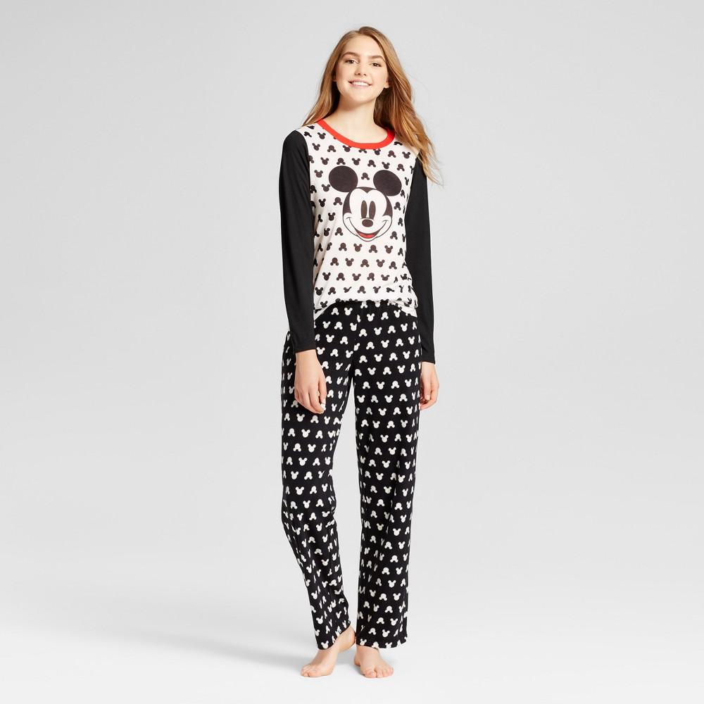 Womens Pajama Set Disney White L