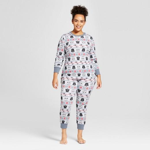 men's star wars pajama set - gray : target