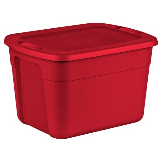 Sterilite Utility Bins Bags And Totes Rocket Red