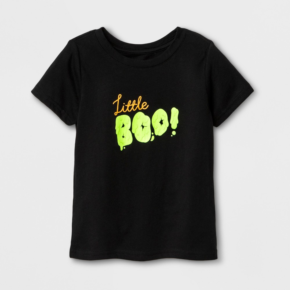Toddler Kids Boo Halloween Family T-Shirt - Cat & Jack Black 3T, Toddler Unisex