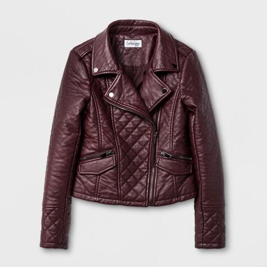 Girls' CoffeeShop Kids Faux Lamb Skin Jacket with Detachable Faux ...