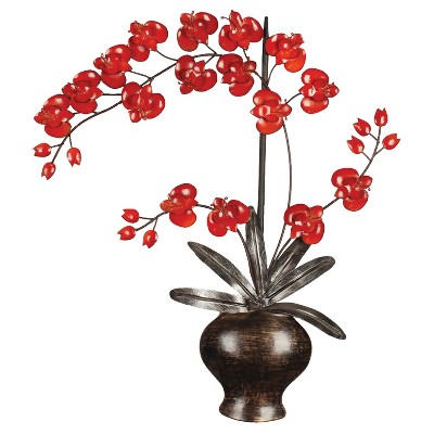 Wall Decor-Flowers in Pot - Home Source