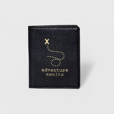Passport Cover - A New Day™ Black