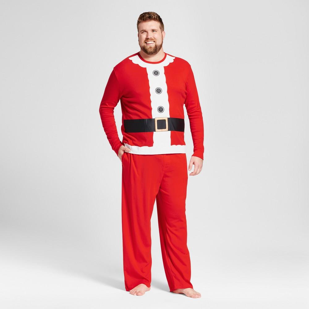 Pajama Set Wondershop Anthem Red 5XB, Mens, Orange
