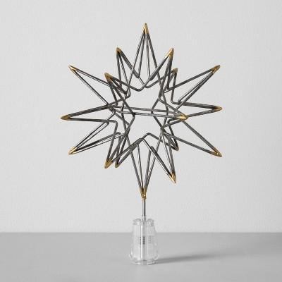 Moravian Star Tree Topper (11 )- Silver - Hearth & Hand™ with Magnolia