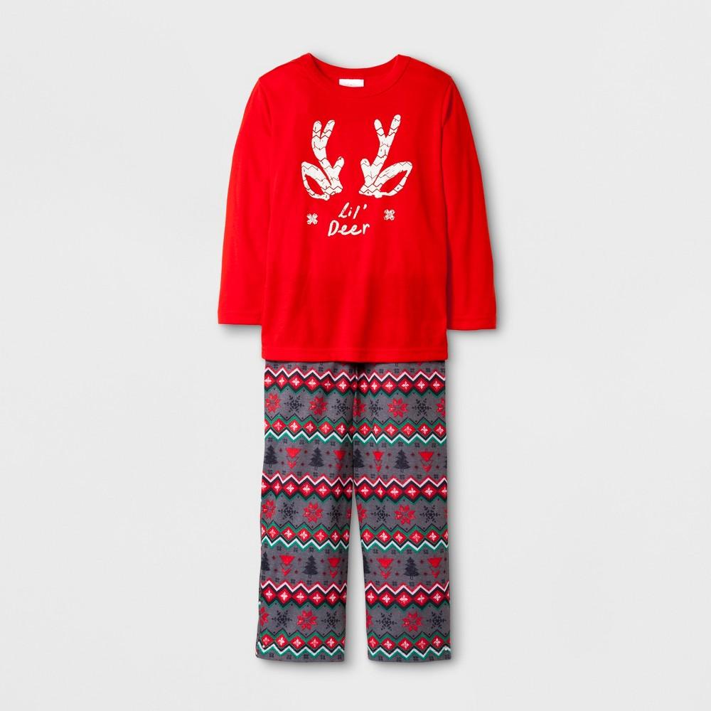 Pajama Set Wondershop Anthem Red 3T, Toddler Unisex