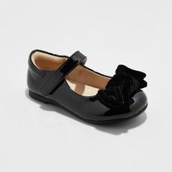 Toddler Girl Kristy Ballet Flats - Cat & Jack™ Black