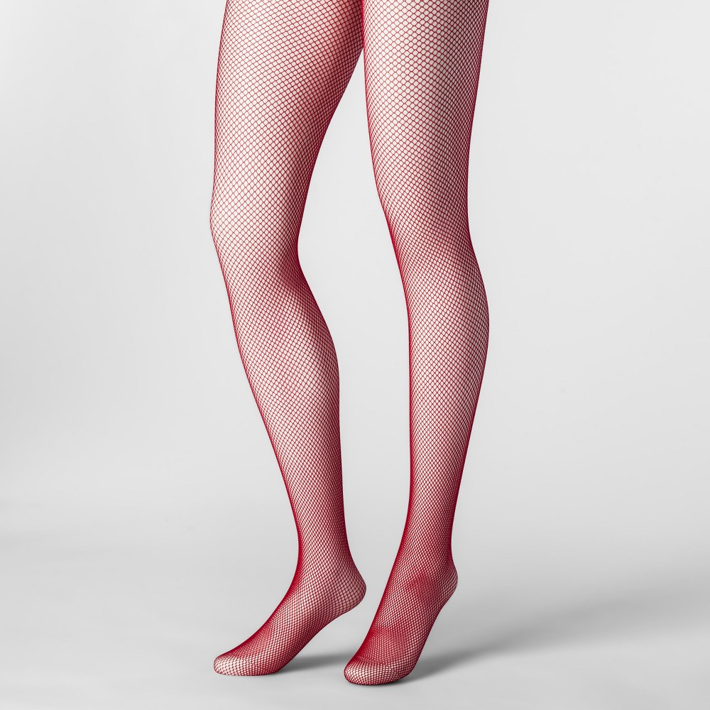 Womens Plus Size Tights - Xhilaration Cupid Red 1X